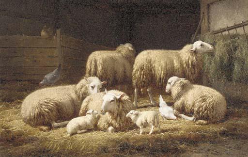Theo van Sluys (Belgian, 1849-
