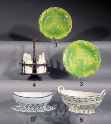 A Wedgwood creamware composite