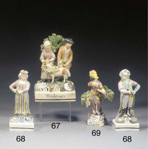 A pearlware Tenderness group