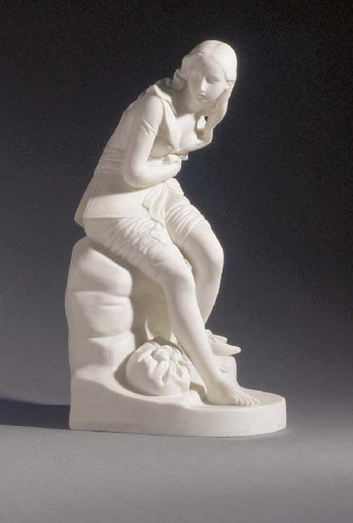 A Minton parian figure of Doro