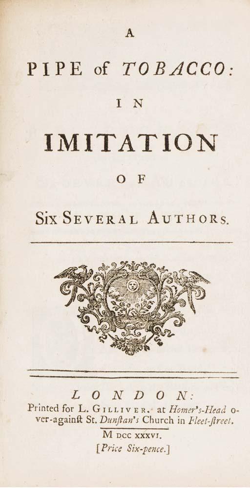 [BROWN, Isaac Hawkins (1705-17