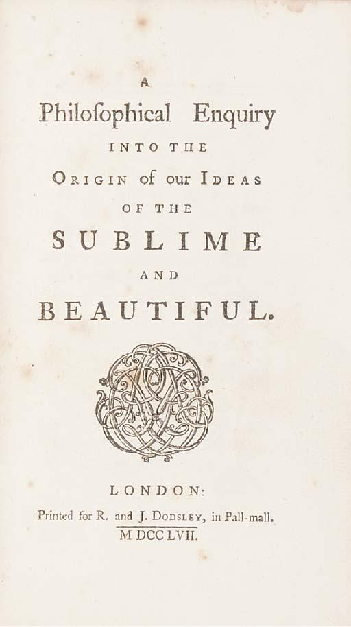 BURKE, Edmund (1729-97).  A Ph