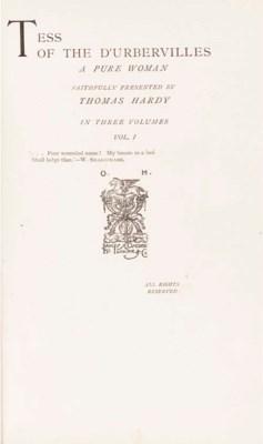 HARDY, Thomas (1840-1928).  Te