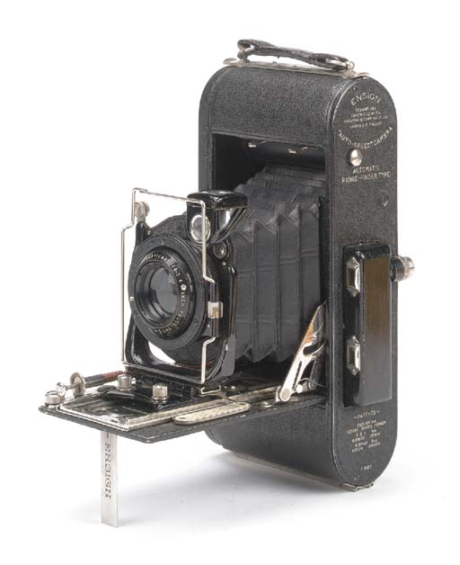 Ensign Autospeed camera no. F8