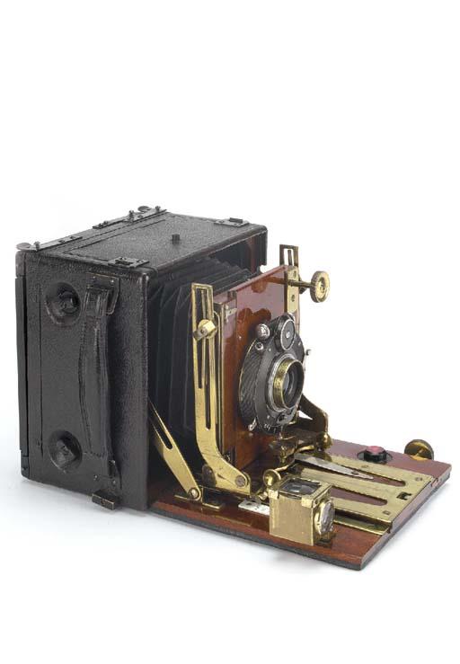Folding Ruby hand camera