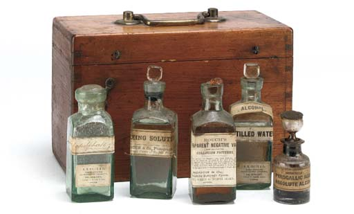 Photographic chemical chest