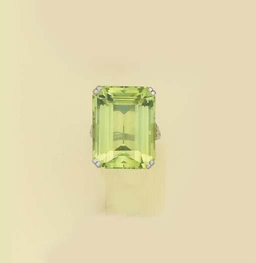 A Tiffany & Co. green beryl si