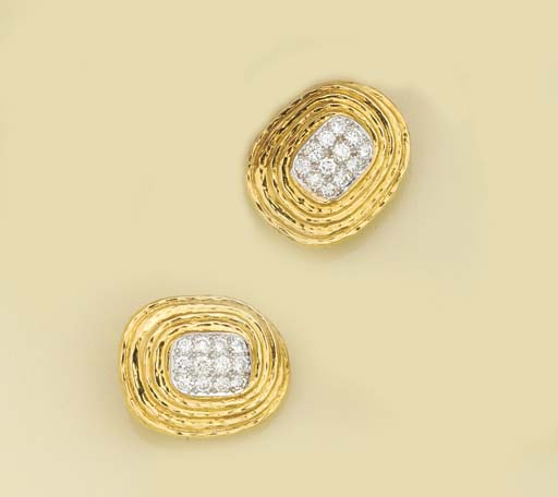 A pair of continental, diamond