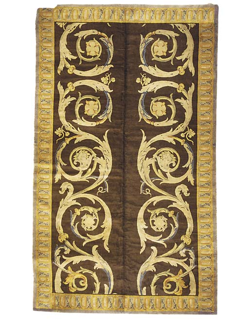 A fine Savonerrie carpet, Fran