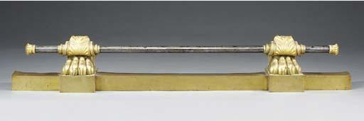 A Louis Philippe gilt bronze a