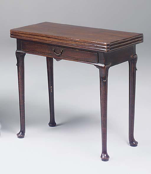 A George II mahogany, sometime