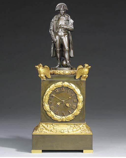 A Napoleon III gilt and patina