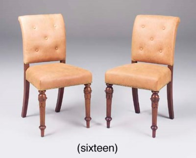 A set of sixteen early Victori