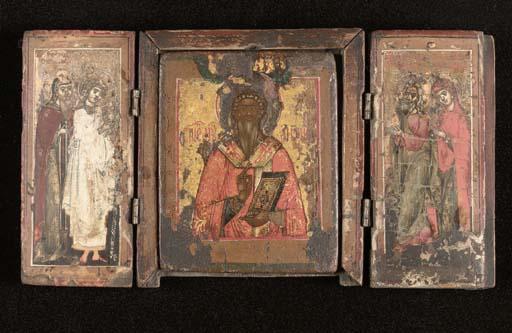 A triptych