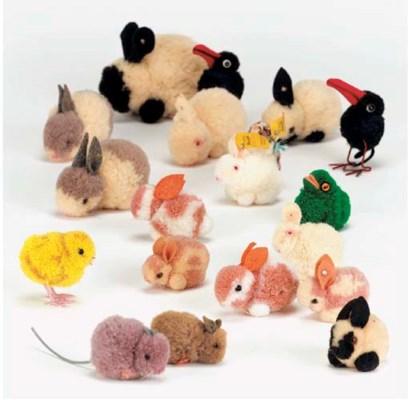 Steiff woollen miniatures