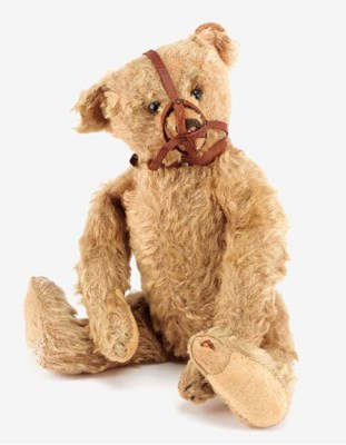 A rare Steiff muzzle teddy bea