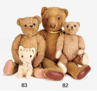 An early German teddy bear