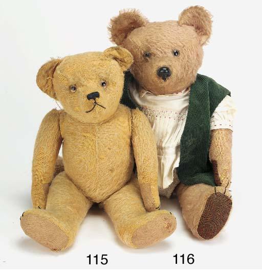A French teddy bear
