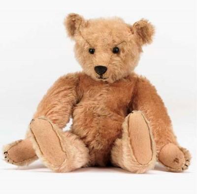 An early Steiff teddy bear
