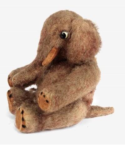 A rare Schuco yes/no Elephant