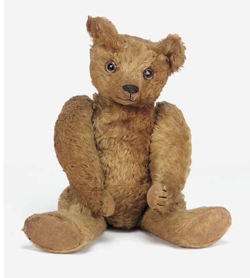 A fine early British teddy bea