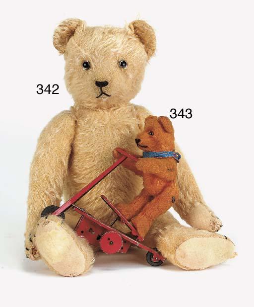 A Fehn, Wolf & Co. bear on sco