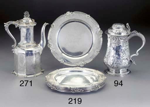 A Set of Six George V Silver D