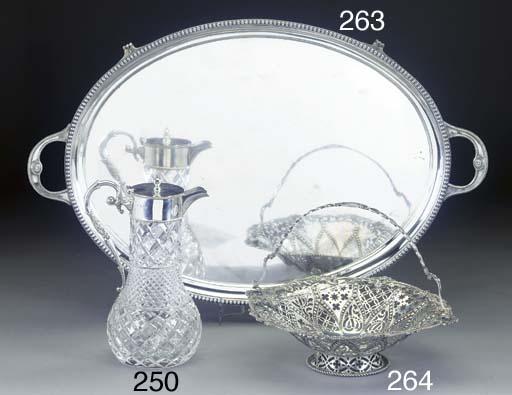 A Victorian Silver Cake Basket