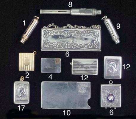 A silver strip dispenser