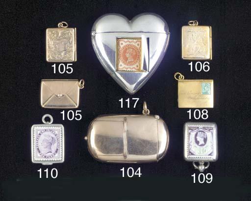 A Victorian 9ct gold combinati