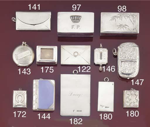 A Victorian stamp case