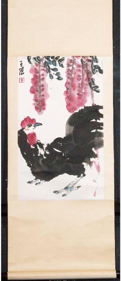 Cui Zifan (b.1915), a scroll i