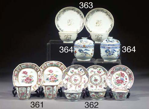 A Chinese export plate Qianlon