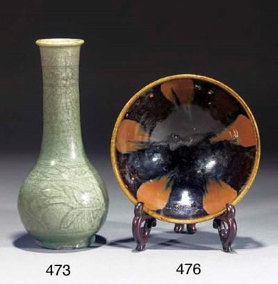 A Ming celadon glazed pottery