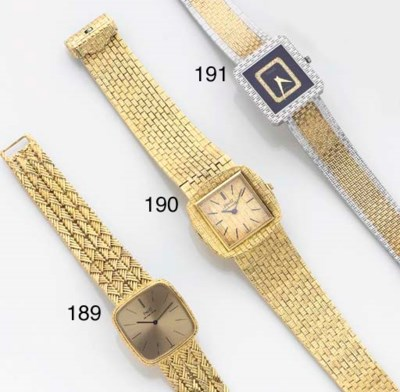 PIAGET, AN 18ct. GOLD AUTOMATI