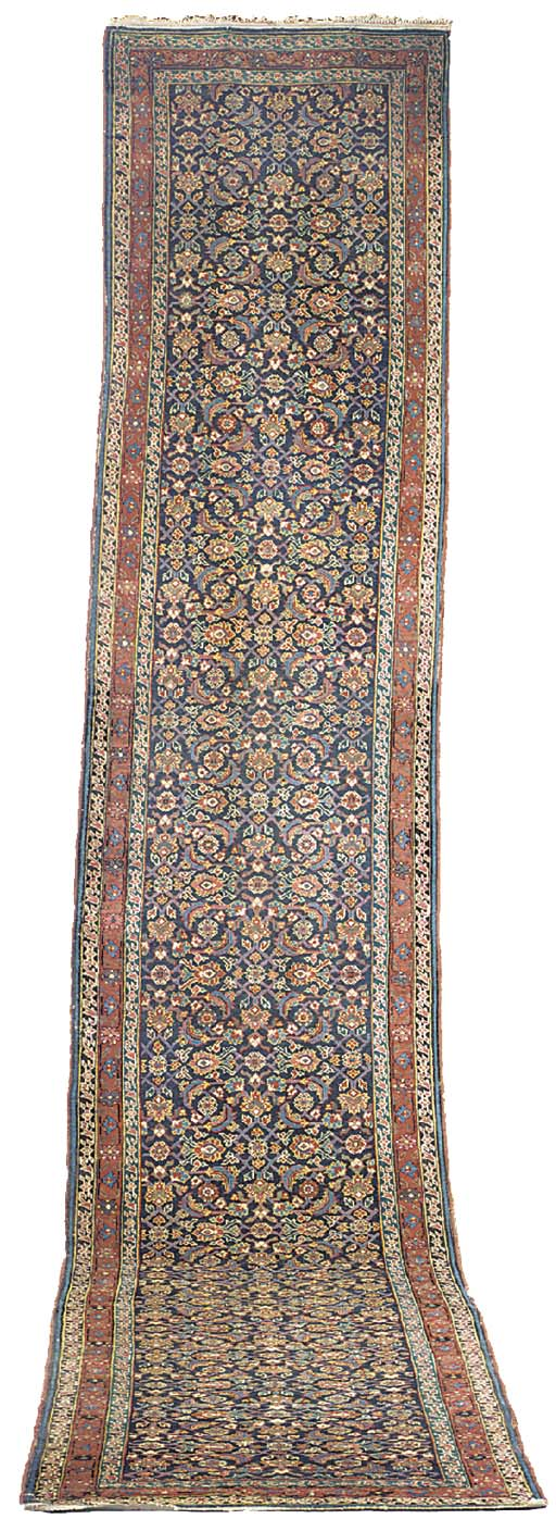 An antique Feraghan runner
