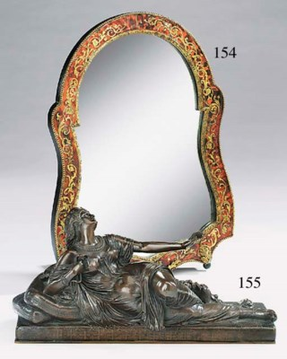A French patinated bronze mode
