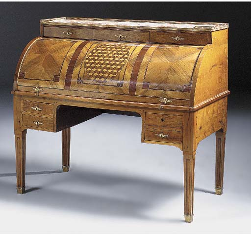 A NORTH ITALIAN FRUITWOOD AND