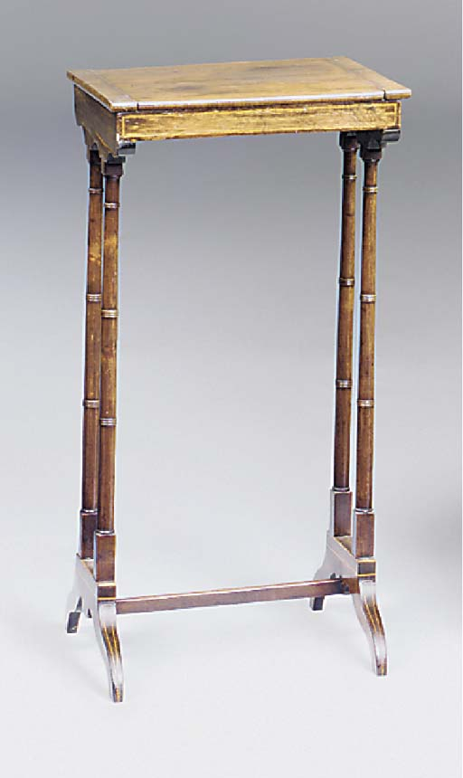 A rosewood backgammon table, 1