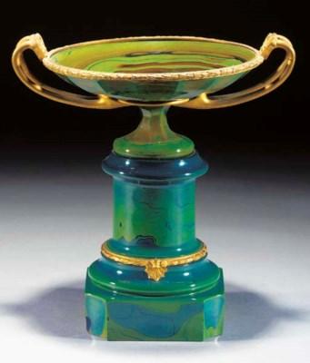 A gilt-metal mounted lythialin