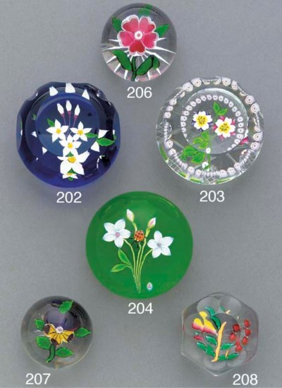 A modern Baccarat dated bright