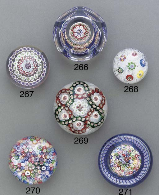 A Baccarat patterned millefior