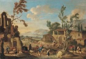 Circle of Dirck Helmbreker (Haarlem 1633-1691 Rome)