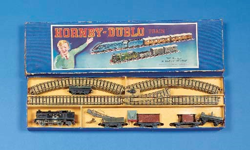 Pre-war Hornby-Dublo and Dinky