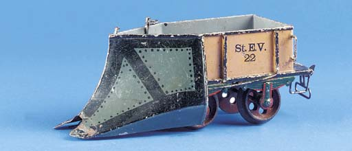 A  Märklin Gauge II two-axle S