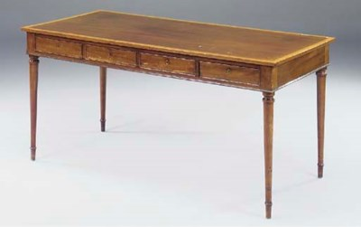 A north European mahogany and