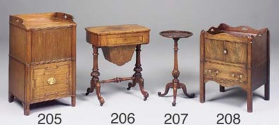 A mid-Victorian walnut and fig
