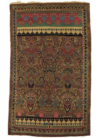An unusual antique large Agra