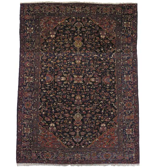 A massive Bakhtiari carpet, West Persia