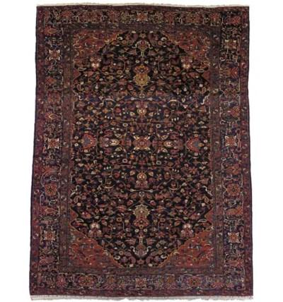 A massive Bakhtiari carpet, We
